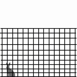 140 cm hegn