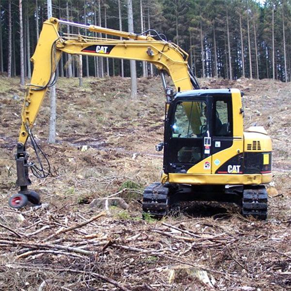 Maskinel plantning